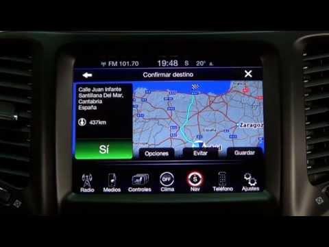 Jeep Cherokee. Modelo 2014. Impresiones sistema multimedia Uconnect 8.4