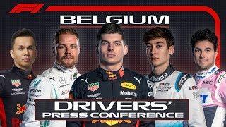 2019 Belgian Grand Prix: Pre-Race Press Conference