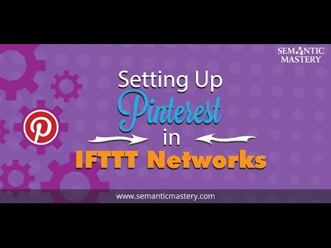Setting Up Pinterest in IFTTT Networks