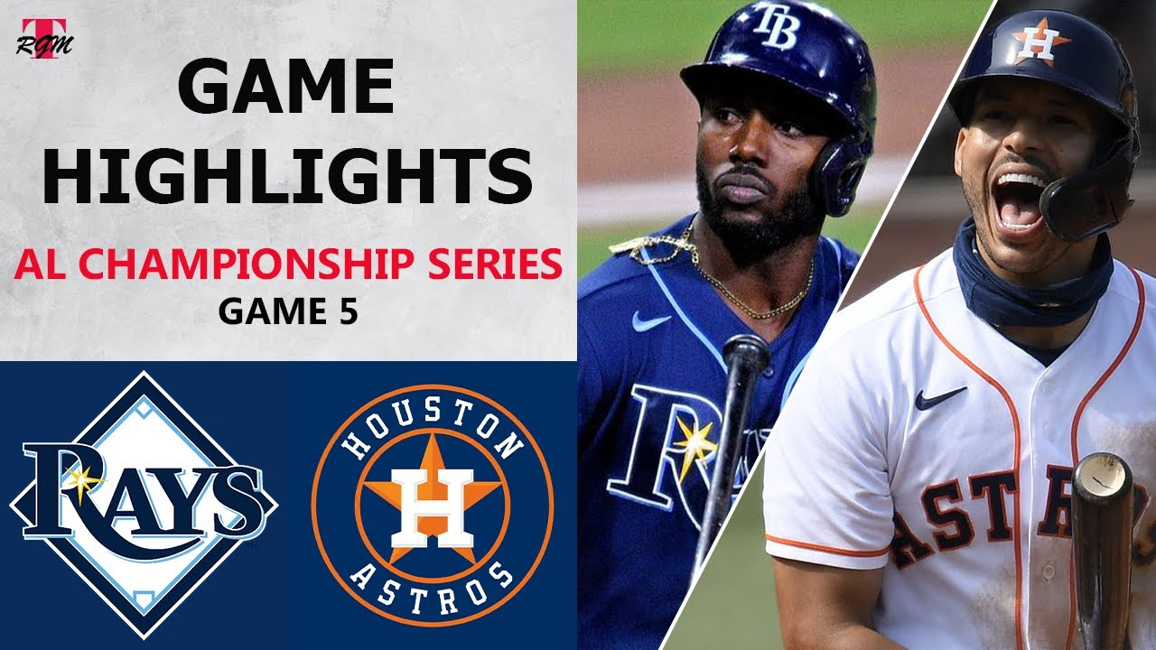 Tampa Bay Rays vs. Houston Astros Game 5 Highlights | ALCS (2020)