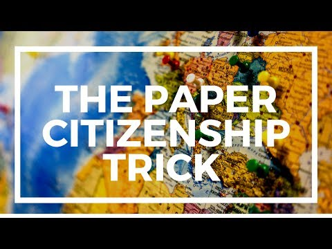 """How to use """"paper residency"""" to get a second passport"""