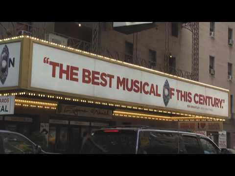 Eugene O'Neill Theatre On Broadway,  Home Of The Book Of Mormon Musical