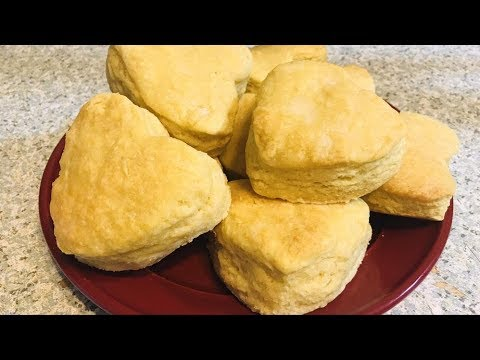 No Buttermilk 3 Ingredient Biscuit Recipe EASY - No Buttermilk Biscuit Recpe Homemade