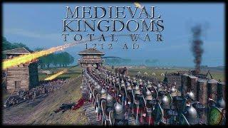 RIVER FORT SIEGE! Medieval Kingdoms Total War 1212AD Gameplay (Attila Mod)