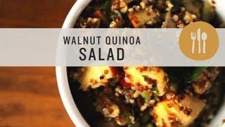 Walnut Quinoa Salad