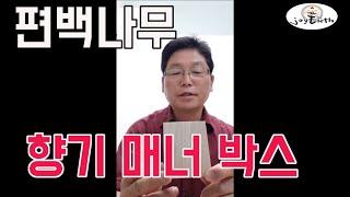 [조이어스박TV] 편백나무 큐브 우드박스 천연방향제