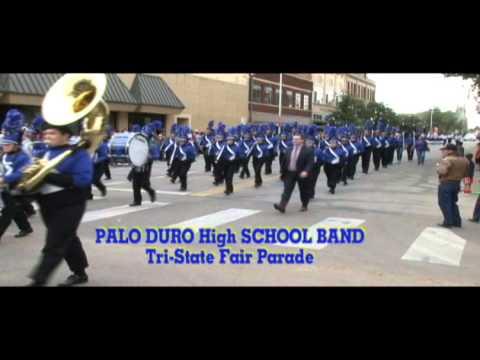 Palo Duro High School Band Tri State Fair Parade
