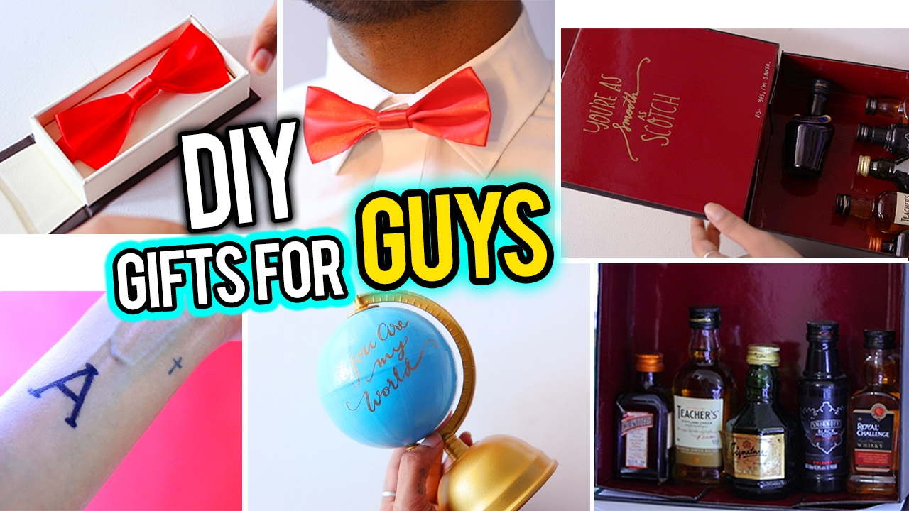 7 Diy Valentine S Gift Ideas For Him Dad Boyfriend Friend Brother You