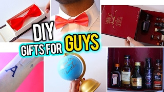 7 DIY Valentine's GIFT IDEAS FOR HIM : Dad, Boyfriend, Friend, Brother