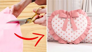 Aprenda a Fazer Almofada Decorativa – Coração