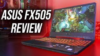 ASUS TUF FX505 Gaming Laptop Review