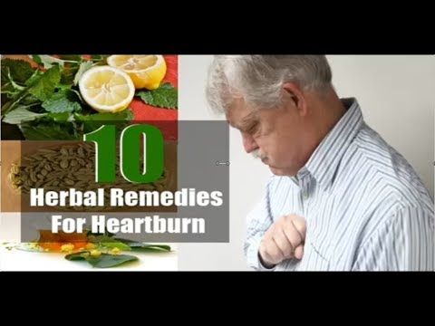 Health News: Top 10 Herbal Remedies for Heartburn