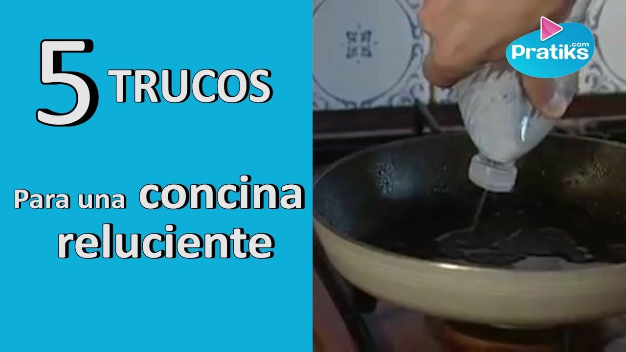 5 trucos para una cocina reluciente youtube - Trucos para limpiar azulejos de cocina ...