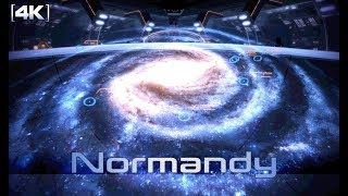 Mass Effect 2 - Normandy: Galaxy Map Theme (1 Hour of Music) [4k]