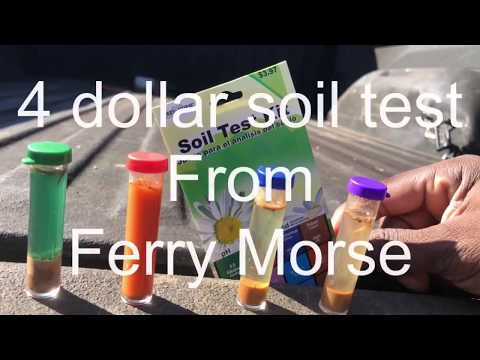 4 Dollar Soil Test By Ferry Morse Does It S