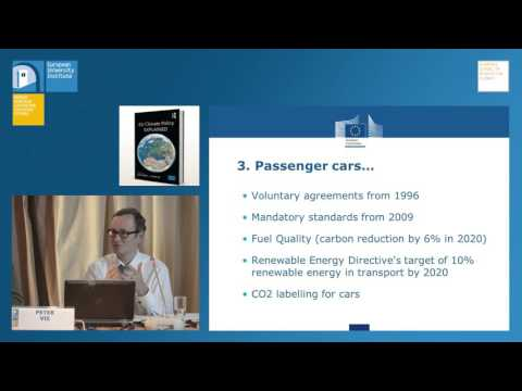 EU Climate Policy EXPLAINED | A book presentation by Peter Vis