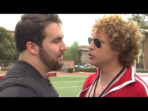Will Ferrell Trains USC's Elite for the NFL Draft!