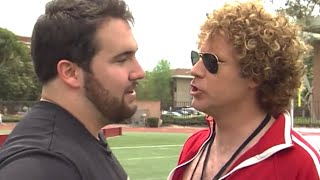 Will Ferrell Trains USC's Elite for the NFL Draft!