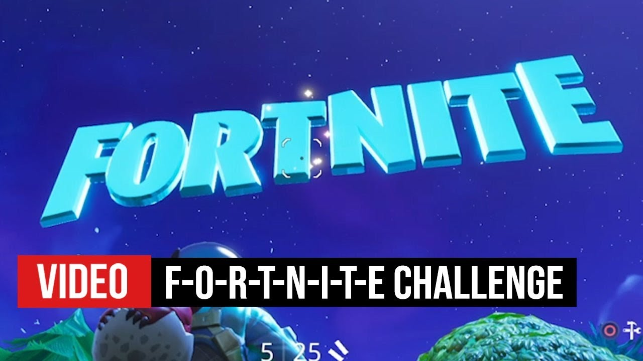 All Fortnite Letters Season 4 How To Find F O R T N I T E Letter Locations In Season 4 Week 1 Youtube