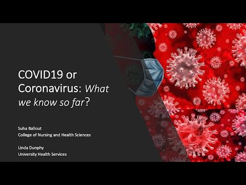 Coronavirus: What We Know So Far February 12, 2020