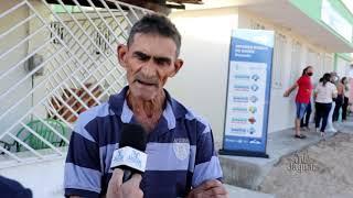 Morada Nova   José Rabelo agricultor destaca a importância do posto de saúde do Dourado para comunid