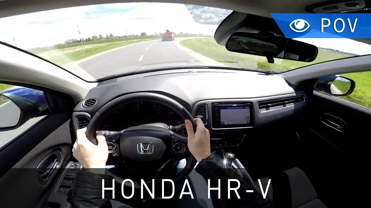 Honda Hrv Avis Honda Hr V 1 6 I Dtec 120 Km 2016 Pov Drive Project Automotive