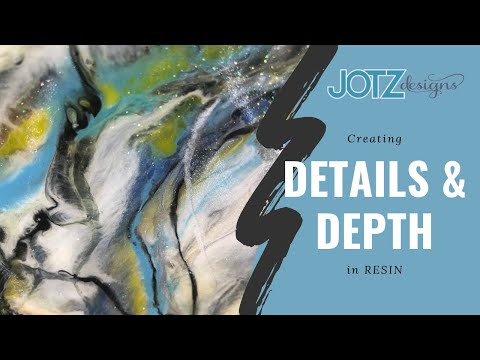 Create details and depth in Resin! Using Stonecoat epoxy with pastes, dyes, & powders