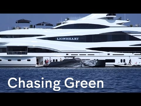 Philip Green: Chasing the former BHS head in the Aegean Sea