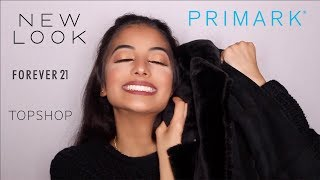 HUGE AUTUMN/WINTER TRY ON HAUL 2017: Primark, New Look, Topshop, Forever21   F&S