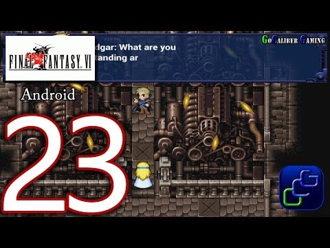 FINAL FANTASY 6 (VI) Android Walkthrough - Part 23 - South Figaro. Figaro Castle