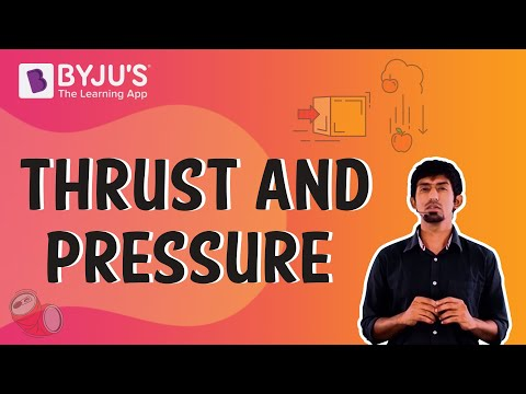 Class 6-10 - Thrust and Pressure