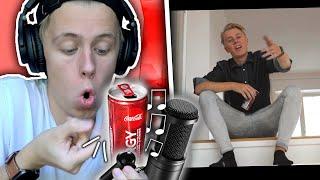 Jag gjorde en låt av Coca Cola Energy-burkar