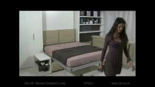 Clei UK - Atoll sofa wall bed unit Thumbnail