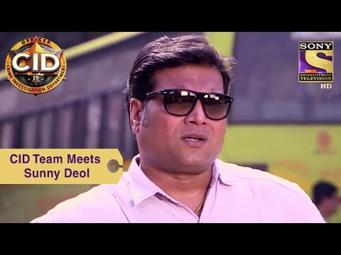 Your Favorite Character | CID Team Meets Sunny Deol | CID