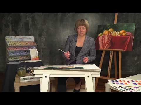 Elena Bazanova's watercolour masterclass. Lesson 6