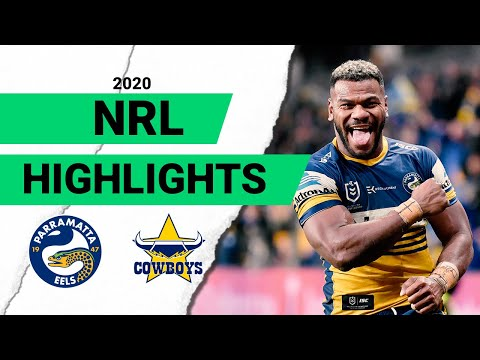 Eels V Cowboys Match Highlights | Round 8 2020 | Telstra Premiership | NRL