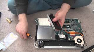 How to change Sony Viao Hard Drive