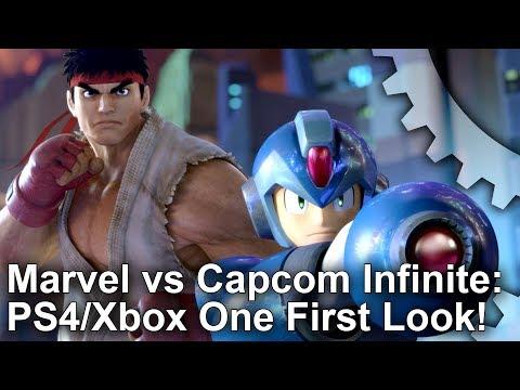 Marvel vs Capcom Infinite: PS4/Xbox One Graphics Comparison/ Input Lag Analysis