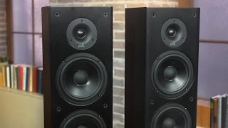 Gambar cover Polk's T50 floorstander issues challenge to budget Pioneers