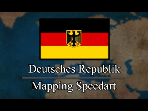 Deutsche Republik (German Republic) - Mapping Speedart