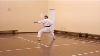 Ката Хеан Годан (Шотокан каратэ-до)(Ката Хеан Годан в исполнении сенсея Ковальчука Александра. (Каратэ клуб