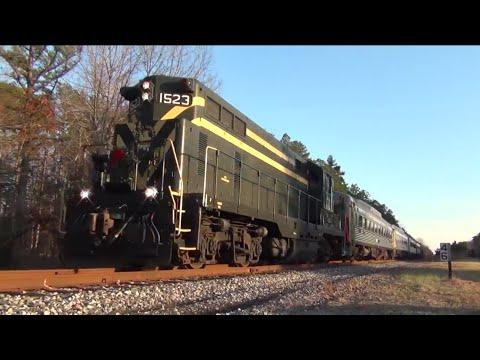 The Santa Express!  Cape May Seashore Lines (in HD)