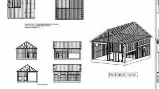 #g395 30' X 40' X 14' Garage With Apartment Plan