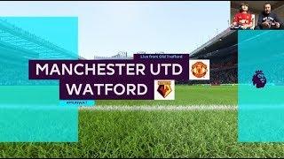 FIFA 18 PS4 | Manchester United v Watford | GAMEPLAY