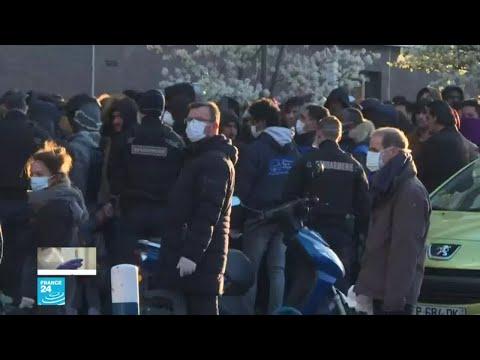 فرنسا تؤوي المهاجرين غير الشرعيين لحمايتهم من فيروس كورونا  - 14:01-2020 / 3 / 26
