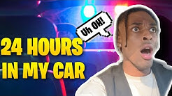 24 HOURS INSIDE MY CAR *gone wrong*