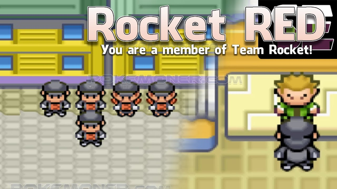 Pokemon Rocket Red, You are a member of Team Rocket!