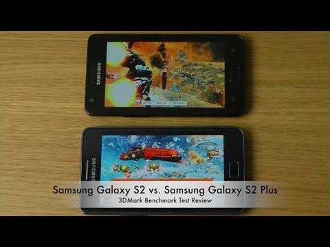 Samsung Galaxy S2 vs. Samsung Galaxy S2 Plus Review (3DMark Benchmark Test)