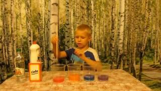 Эксперименты для детей. Как сделать вулкан дома!) Занимательная наука.