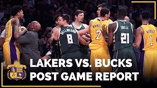 Lakers React To Nick Young, D'Angelo Russell, Greg Monroe Altercation